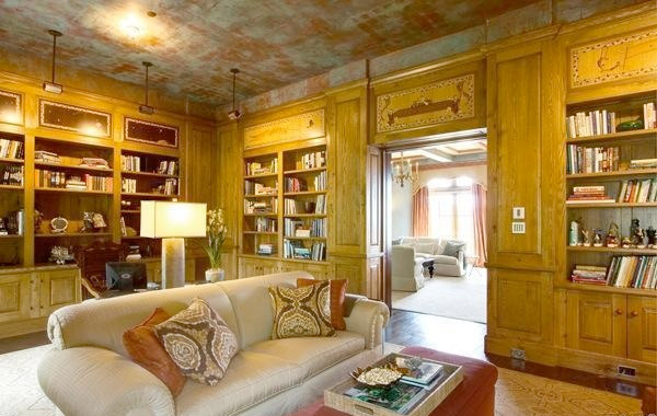 La biblioteca de la casa Robin Williams