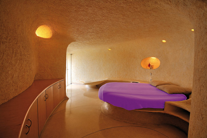 Dormitorio de la Casa Nautilus
