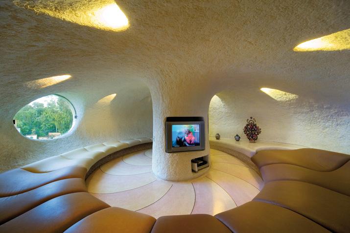 Sala television Casa Nautilus