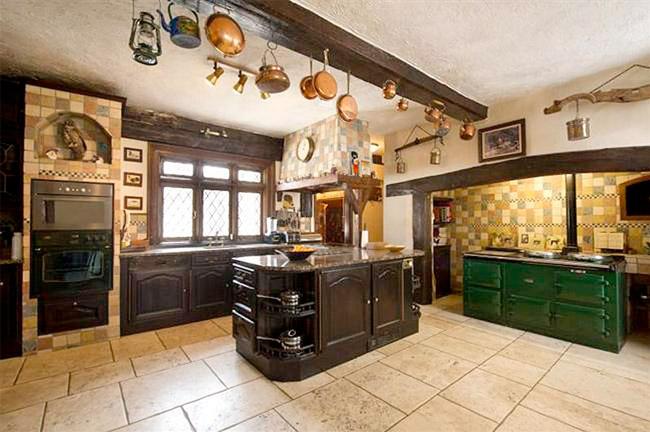 Cocina casa Iron Maiden