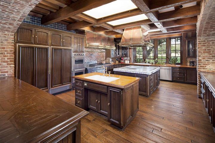 Cocina del rancho de Michael Jackson