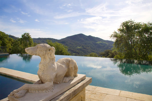 Piscina finca Robin Williams