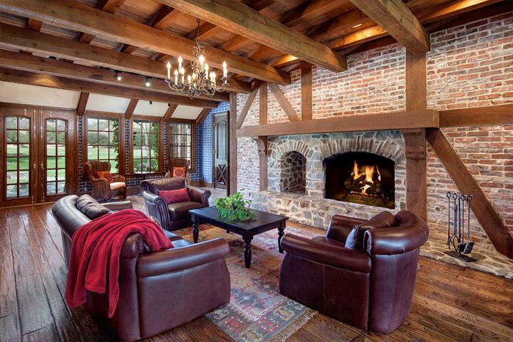 Sala de estar del rancho de Michael Jackson