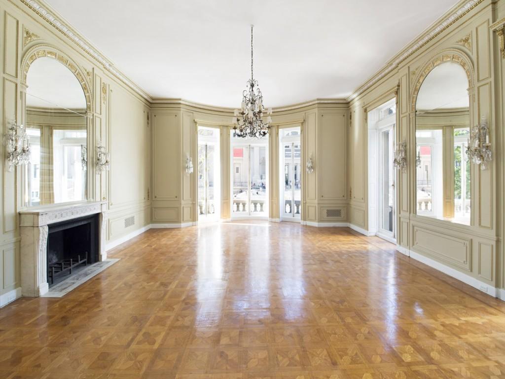 Salon de la mansion de Carlos Slim
