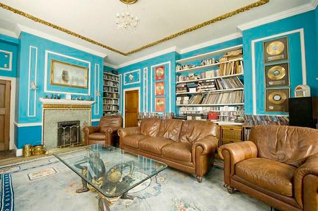 Salón casa de Steve Harris
