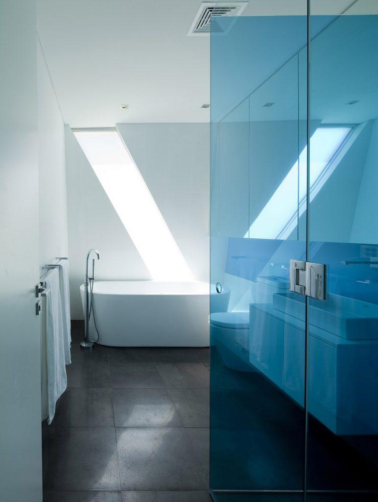 Baño Casa Moebius
