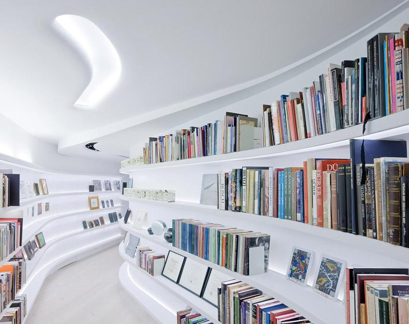 Biblioteca loft Nueva York