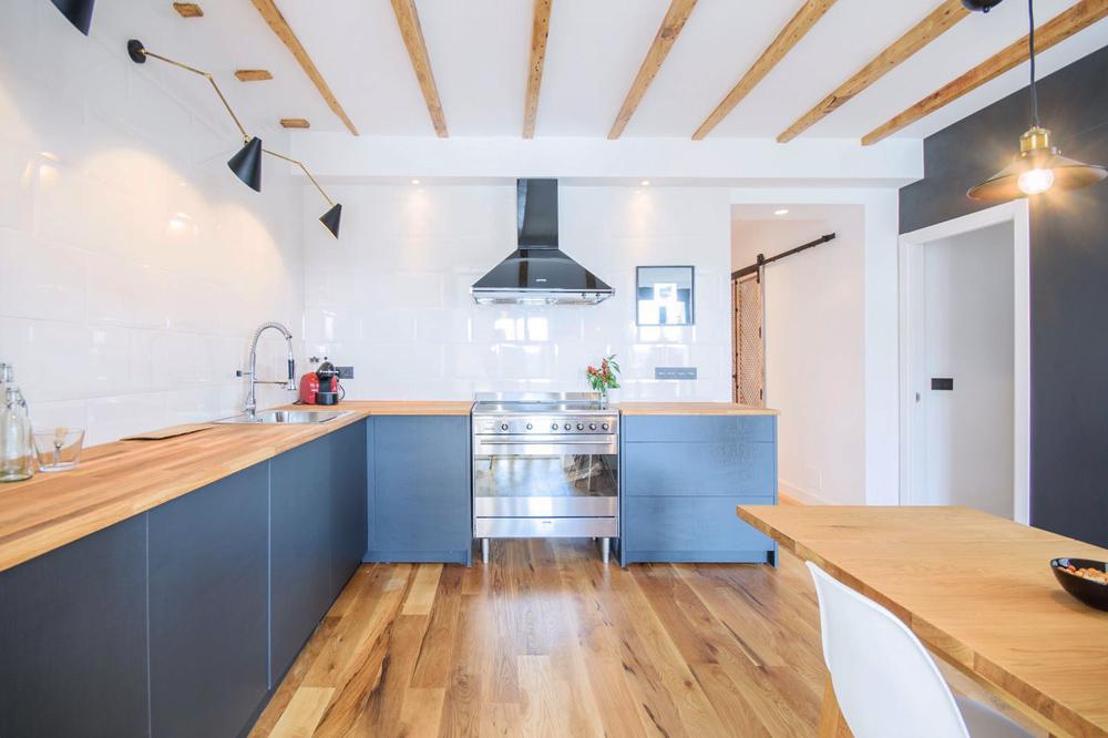 Cocina piso reformado