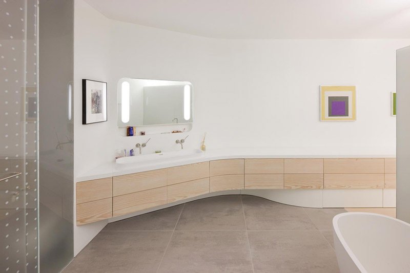 Cuarto de baño loft Nueva York