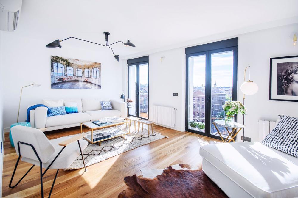 Salón piso reformado